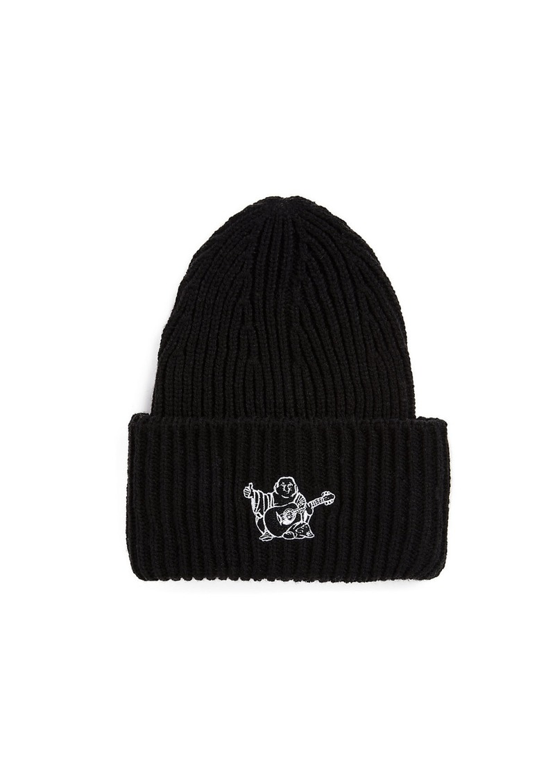 aab8e38d62cd3 True Religion MENS BUDDHA LOGO BEANIE Now  29.99