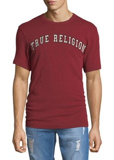 True Religion Men's Embroidered Logo T-Shirt