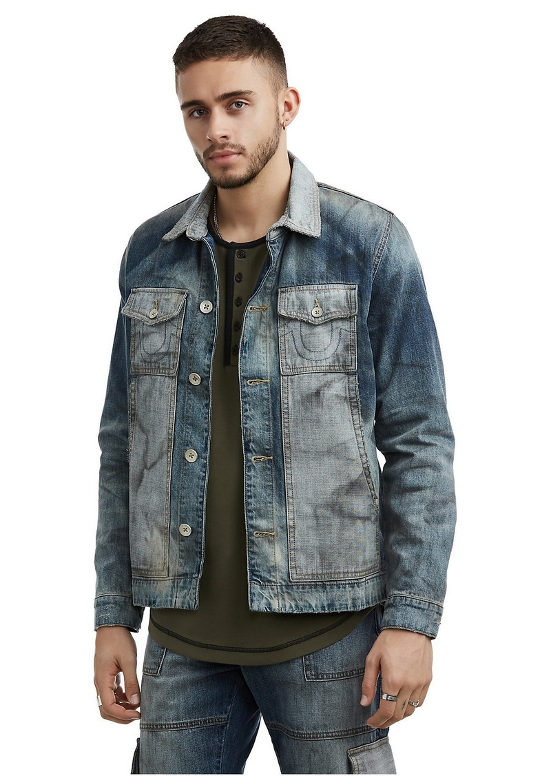 True Religion MENS GARAGE DENIM JACKET