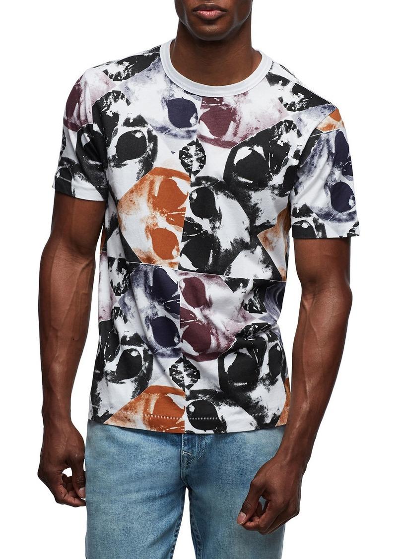 True Religion Men's Kaleidoscope-Print Crewneck T-Shirt