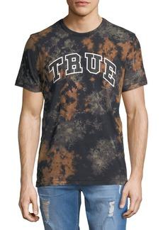 True Religion Men's Logo-Graphic Tie-Dye T-Shirt