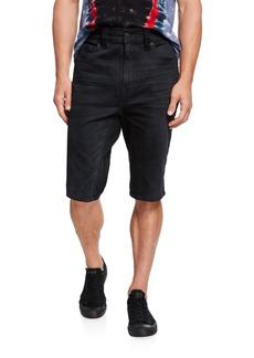 True Religion Men's Marco Whiskered Knee-Length Shorts