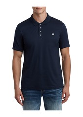 True Religion MENS MERCERIZED COTTON POLO SHIRT