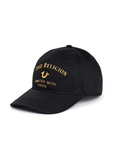 True Religion MENS METAL CRAFTED BASEBALL CAP