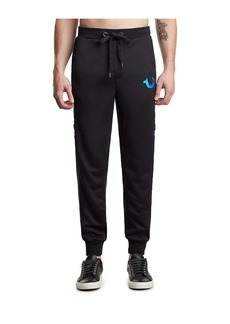 True Religion MENS METALLIC VARSITY SWEATPANT