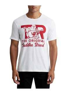 True Religion MENS RETRO BUDDHA GRAPHIC TEE
