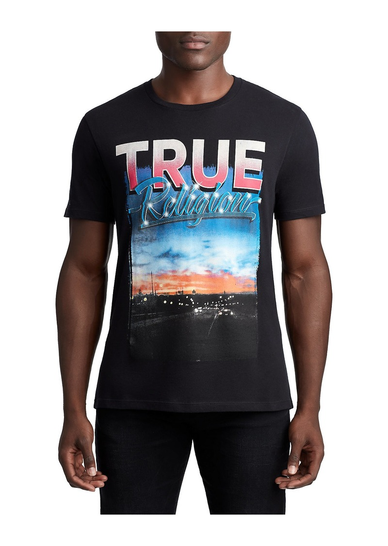 14e84b7ed True Religion MENS RETRO SUNSET GRAPHIC TEE | T Shirts