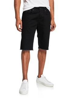 True Religion Men's Ricky Straight-Leg Denim Shorts