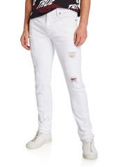 True Religion Men's Rocco Distressed Skinny Jeans