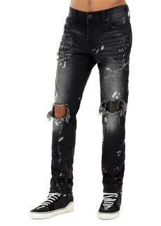 True Religion Men's Rocco Distressed Straight-Leg Jeans