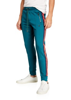 True Religion Men's Side-Stripe Track Pants