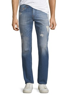 True Religion Men's Slim-Fit Distressed Jeans