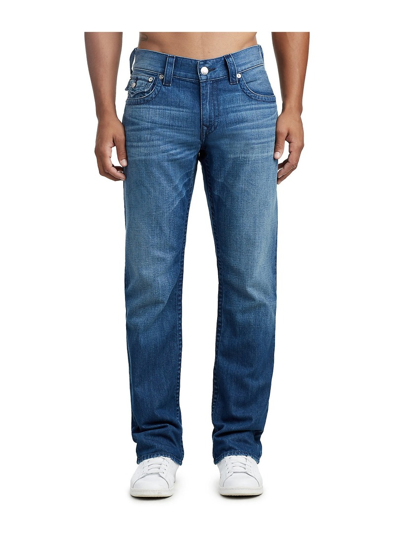 True Religion MENS STRAIGHT JEAN W/ FLAP
