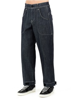 True Religion MENS URBAN PATCH POCKET BAGGY JEAN