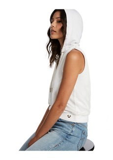 True Religion SLEEVELESS MESH HOODIE