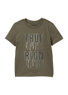 True Religion Metal Drip Tee (Toddler & Little Kid)