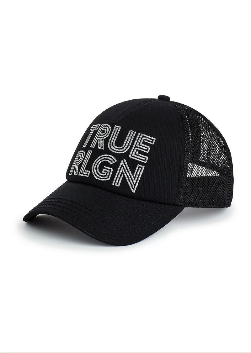 True Religion METALLIC LOGO HAT