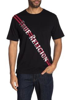 True Religion Metallic Print Short Sleeve T-Shirt