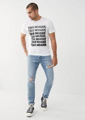 "True Religion MICK SLOUCHY SKINNY JEAN 34"""