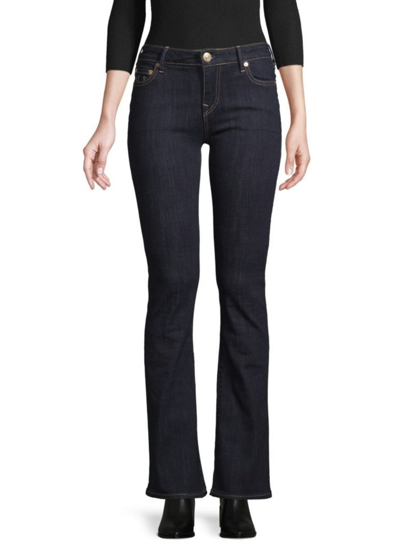 True Religion Mid-Rise Bootcut Jeans