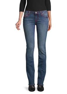 True Religion Mid-Rise Straight-Fit Jeans