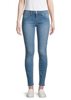 True Religion Mid-Rise Super Skinny Jeans