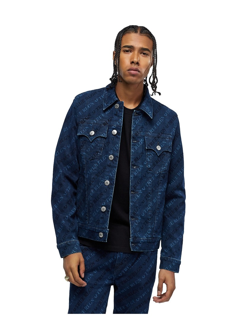 True Religion MONOGRAM DENIM JACKET