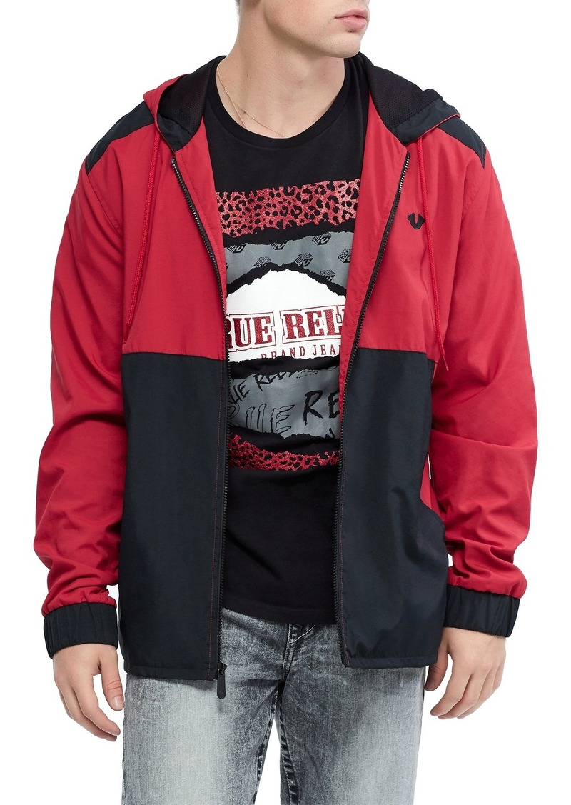 True Religion New Fashion Colorblock Jacket
