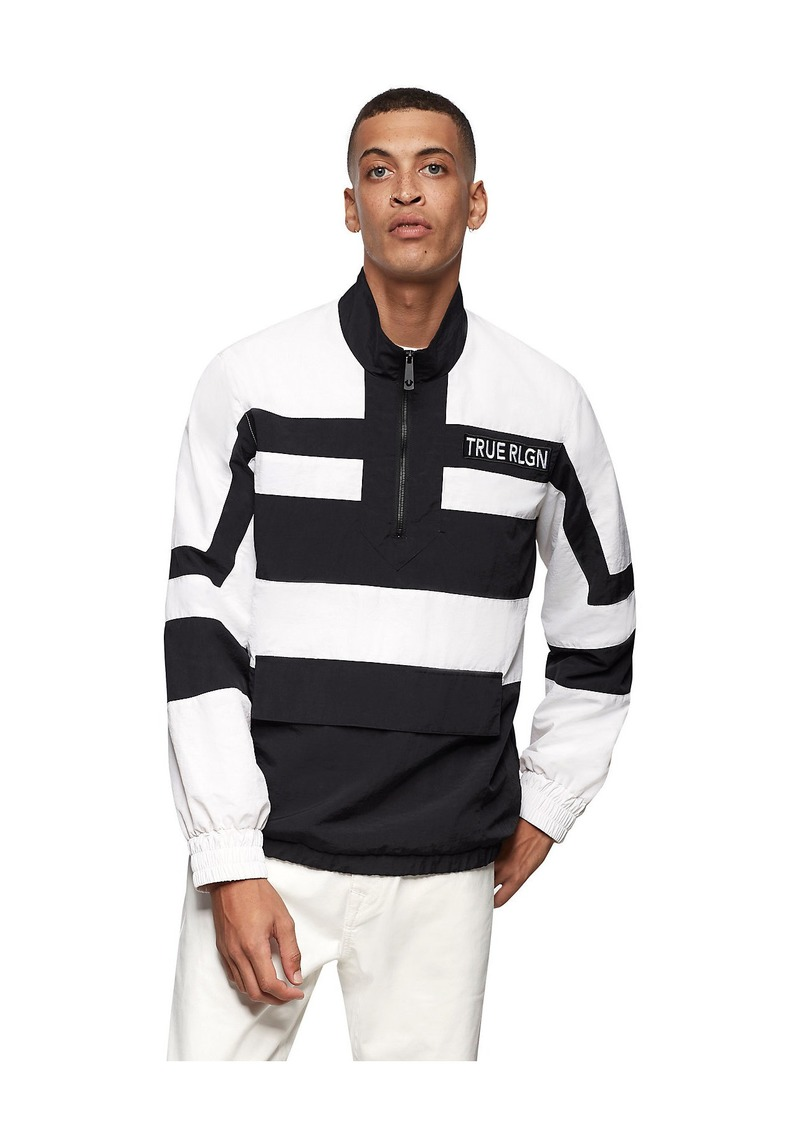 True Religion NYLON STRIPE JACKET