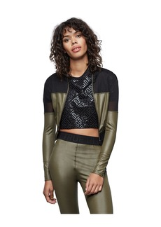 True Religion PERFORMANCE MESH CROP JACKET