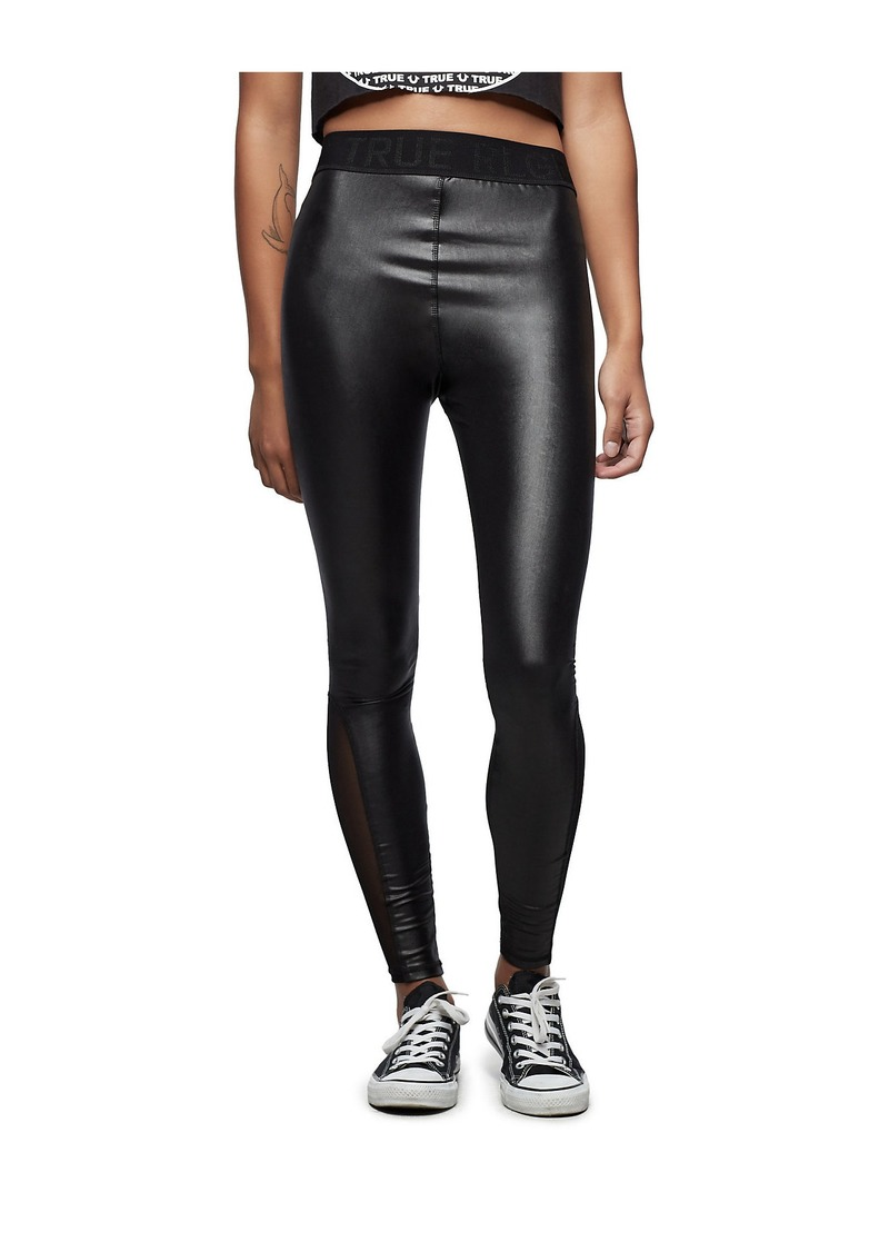 True Religion PERFORMANCE MESH LEGGING