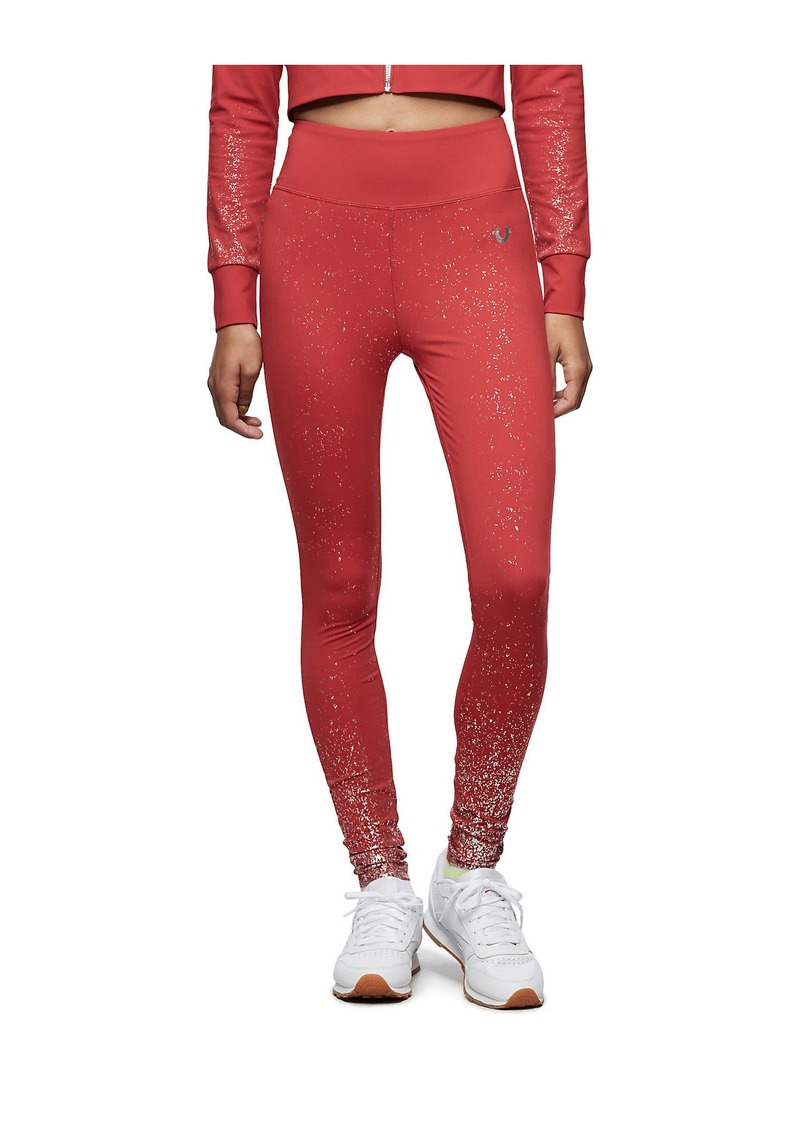 True Religion PERFORMANCE SHIMMER LEGGING