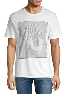 True Religion Perspective Cotton Crewneck Tee