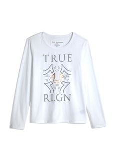 True Religion PLEATED LS TEE