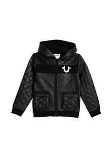 True Religion QUILTED COATED JACKET