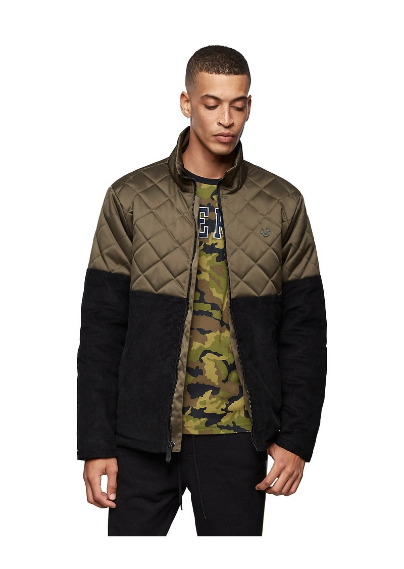 True Religion QUILTED CORDUROY JACKET