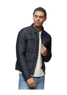 True Religion QUILTED DENIM JACKET