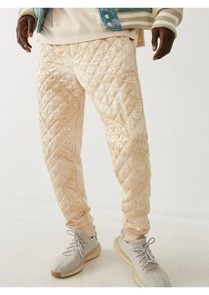 True Religion QUILTED JOGGER
