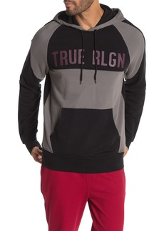True Religion Raglan Sleeve Colorblock Hoodie
