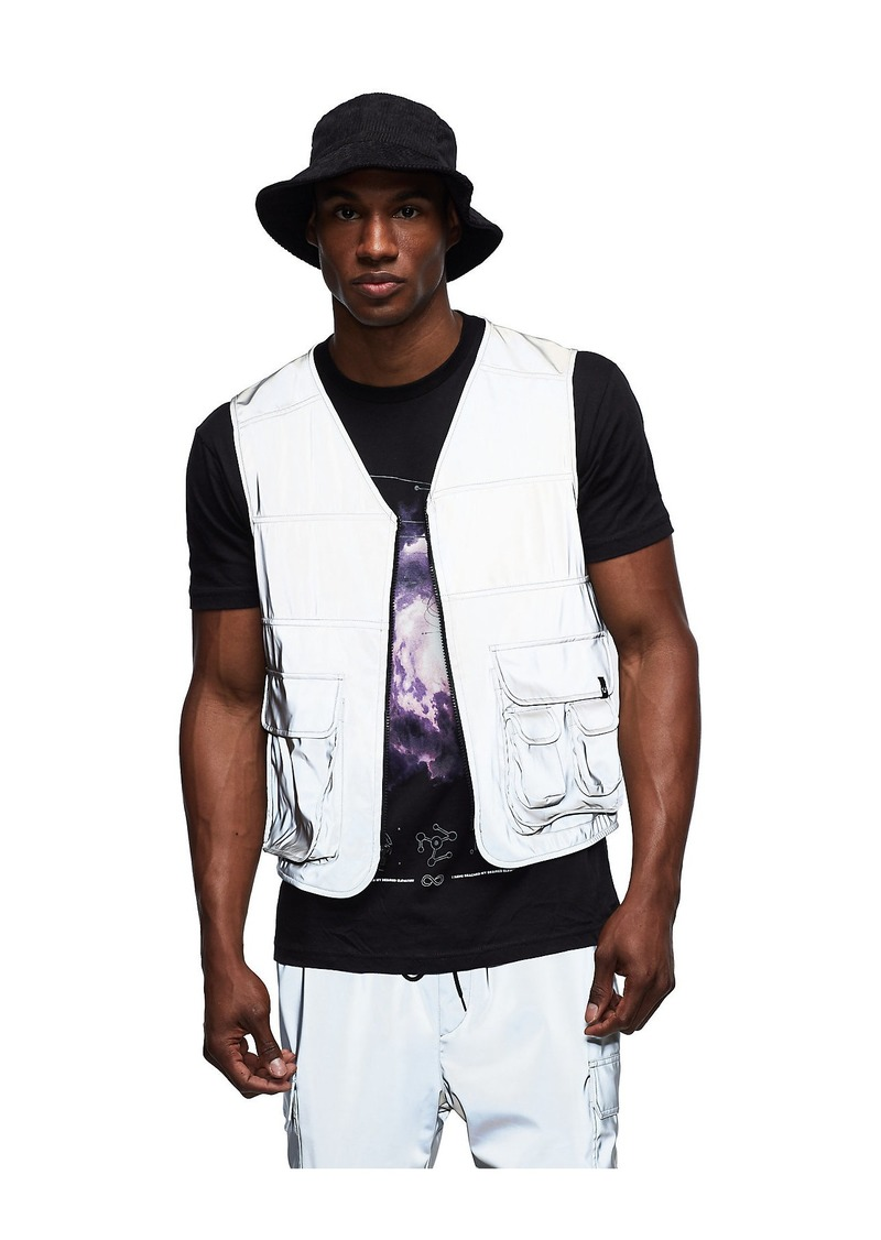 True Religion REFLECT UTILITY VEST