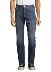 True Religion Relaxed-Fit Contrast Stitched Jeans