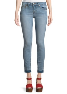 True Religion Released Hem Skinny Jeans