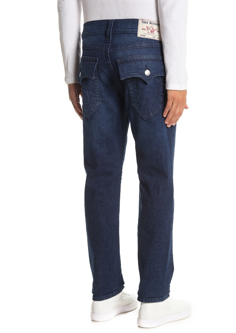 True Religion Ricky Flap Pocket Relaxed Straight Jeans