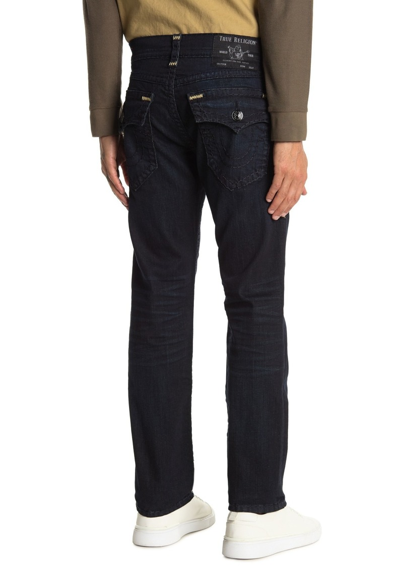True Religion Ricky Flap Relaxed Straight Jeans