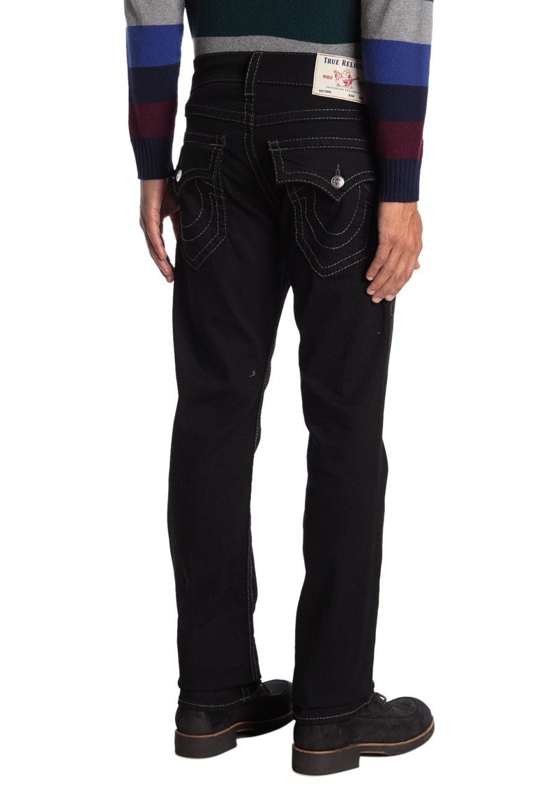True Religion Ricky Flap Straight Big T Jeans
