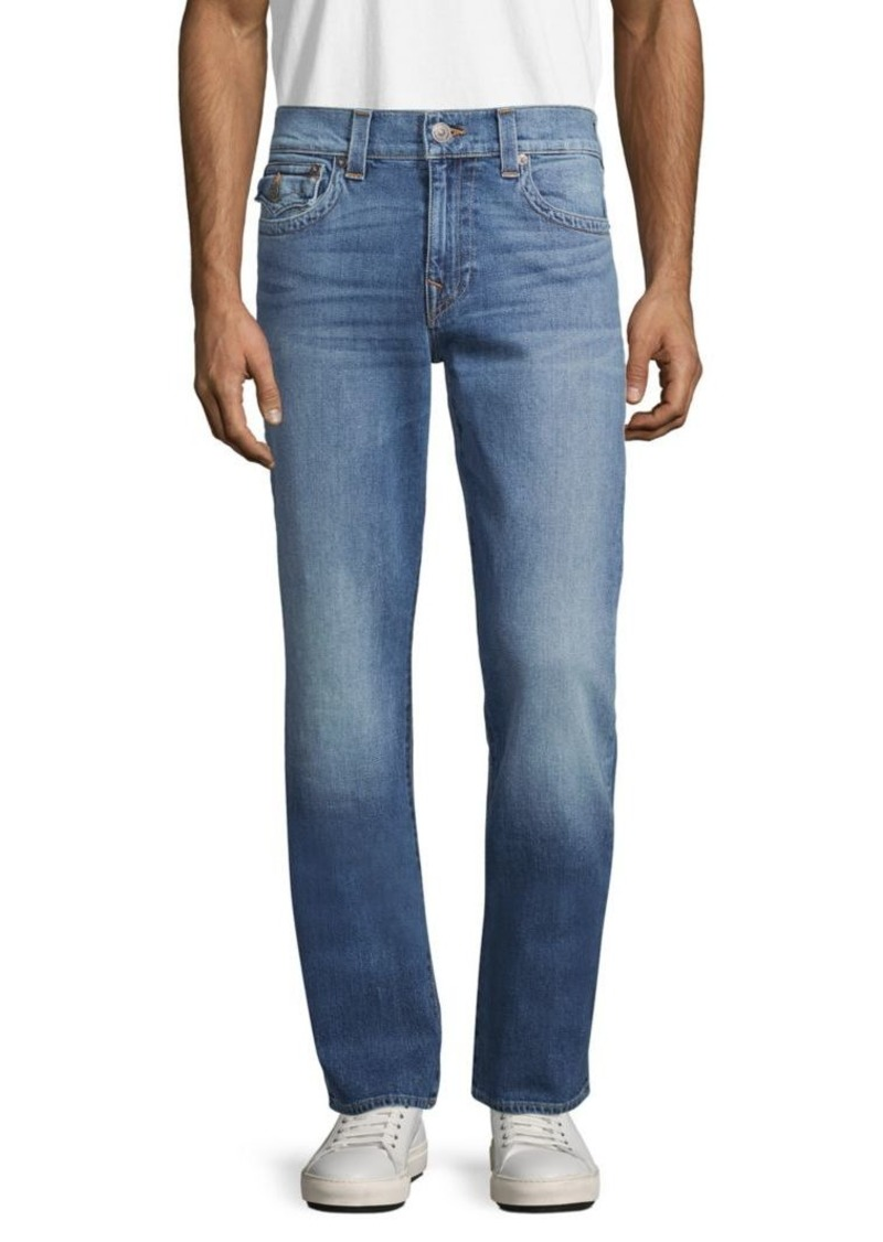 True Religion Ricky Relaxed Straight-Fit Jeans