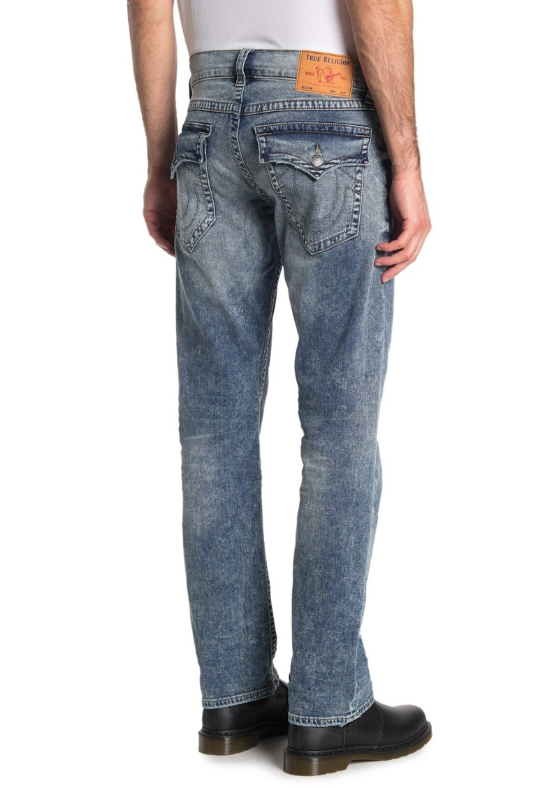 True Religion Ricky Relaxed Straight Leg Jeans
