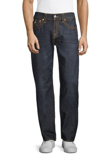 True Religion Ricky Straight-Fit Big T Jeans
