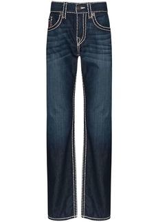 True Religion Ricky Super T contrast-stitch jeans