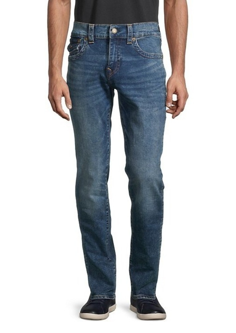 True Religion Rocco Flap Relaxed Skinny Jeans